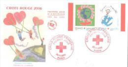 PARIS  Croix Rouge Française  Jouons Ensemble  25/11/06 - Rotes Kreuz