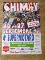 Circuit de Chimay-- 26-27 SEPTEMBRE 98   4e SUPERMOTARD - Championnat de Belgique QUADS