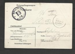 Guerre 39/45 Correspondance Kriegsgefangenenpost 81 Oflag  IV A  15.1040 Pologne Poland Czestochowa - 2. Weltkrieg