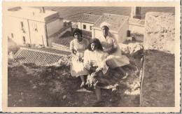 P3-047 - GRUPPO RAGAZZE - SEMBRA LOANO SAVONA - A.�50 - FOTO-CARTOLINA 9x14