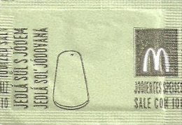 McDONALD´S * McCAFE * SUGAR * SALT * ! PRINTING ERROR ! * Mc Sol´ Vadny 2014 * Czech Republic & Slovakia - Sugars