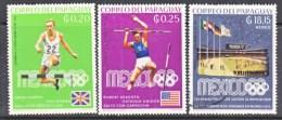 PARAGUAY  1135+   *  (o)    OLYMPICS   MEXICO - Paraguay