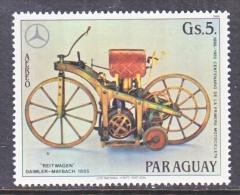 PARAGUAY  C 581   **   MOTORCYCLE DAIMLER  1885 - Paraguay