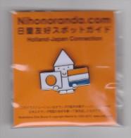 Pin Nihonoranda - Japan-Holland - Flags - Merken
