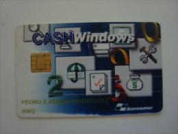 MEXICO - CASH WINDOWS CARD - RARE