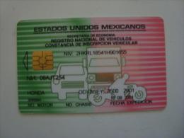 MEXICO - RENAVE CARD 1 - RARE