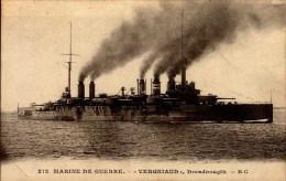 "MARINE DE GUERRE ""VERGNIAUD"" DREADNOUGTH...CPA - Warships"