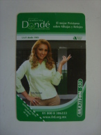 MEXICO  - PREPAID CARD - MULTIFON - DONDE