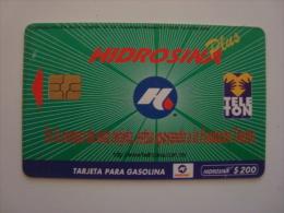 MEXICO  - OIL CARD - HIDROSINA - TELETON - $200