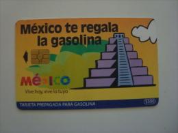 MEXICO  - OIL CARD - HIDROSINA - PYRAMID