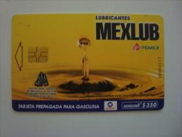 MEXICO  - OIL CARD - HIDROSINA - MEXLUB - $350