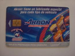 MEXICO  - OIL CARD - HIDROSINA - AKRON - $1000