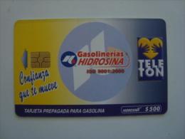 MEXICO  - OIL CARD - HIDROSINA - CONFIANZA - TELETON -  $500