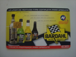 MEXICO  - OIL CARD - HIDROSINA - BARDAHL - $350