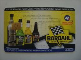 MEXICO  - OIL CARD - HIDROSINA - BARDAHL - $500