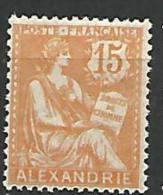 ALEXANDRIE N� 25  NEUF** LUXE