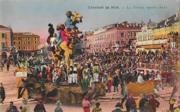 Carnaval De Nice 1928 - La Girafe - Petit Char - Carnaval