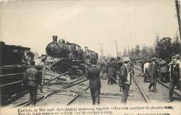 Kontich - Accident de Chemin de Fer - 21 Mai 1908
