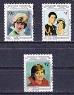 Aitutaki 1982 Prince William Royal Birth Set Of 3 MNH - Aitutaki