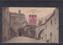 Allemagne - Empire - Carte Postale De 1921 - Oblitération Waldheim - Expédié Vers La Belgique - Storia Postale