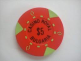 Bulgaria - Chip - Jeton - Casino Royal - Casino