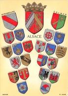 ALSACE  BLASONS - Alsace