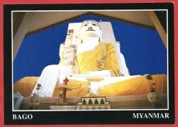 CARTOLINA NV BIRMANIA MYANMAR - BAGO - Golden Spired Pagodas - 10 X 15 - Myanmar (Burma)