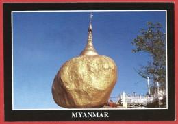 CARTOLINA NV BIRMANIA MYANMAR - Kyaik Tiko Pagoda - Pagoda Kyaiktiko - 10 X 15 - Myanmar (Burma)