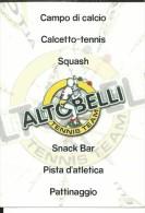 CAL622 - CALENDARIETTO 2003 - ALTOBELLI TENNIS - CASORATE SEMPIONE (VA) - Calendarios