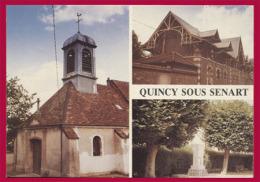 QUINCY-SOUS-SENART. Multivues. (C.P.M. - Grand Format.) - Otros Municipios