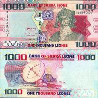 SIERRA LEONE 1000 Leones 2010 P-New UNC - Sierra Leone