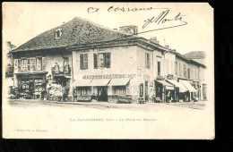BTE42  LOIRE. La Paca Udiere La Place Du Marché - La Pacaudiere