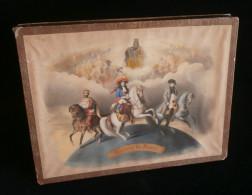 Puzzle HISTOIRE DE FRANCE Editions GAUTHIER PARIS 1845 Chromos Rois De France Et Vues De PARIS - Puzzles