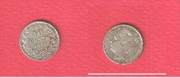 PAYS BAS   //  10 CENTS  1903    //  KM # 135    //   ETAT  TTB + - 10 Cent