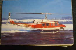 HELISWISS   BELL 214  HB XKH - Hélicoptères