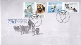 Australian Antarctic 2014 Era Of The Husky FDC - FDC