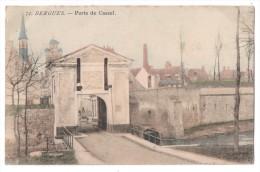 CP, 59, BERGUES, Porte De Cassel, Voyagé En 1904 - Bergues