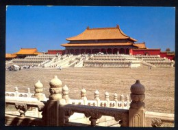 The Hall Of Supreme Harmony - Imperial Palace ----- Postcard Traveled - Chine