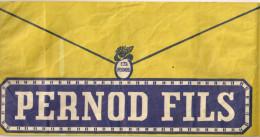 Chapeau Publicitaire En Papier  PERNOD FILS - Caps