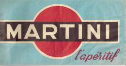 Chapeau Publicitaire En Papier  MARTINI - Caps