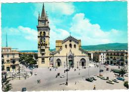 Messina :  OLDTIMER FIAT AUTOMOBILI, AUTOBUS/COACH - La Cattedrale -  (Italia) - Passenger Cars