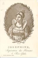 """JOSEPHINE ,IMPERATRICE DES FRANCAIS ET REINE D""""ITALIE (PORTRAIT IDENTIQUE 1806) REF 39990 - Familles Royales"""