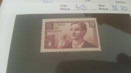 LOT 228514 TIMBRE DE FRANCE NEUF** N�418 VALEUR 20 EUROS