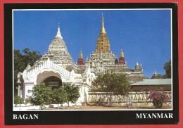 CARTOLINA NV BIRMANIA MYANMAR - BAGAN - Ananda Temple - 10 X 15 - Myanmar (Burma)