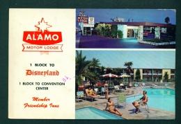 USA  -  Anaheim  Alamo Motor Lodge  Used Postcard As Scans - Anaheim