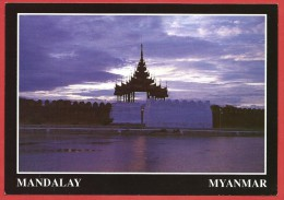 CARTOLINA NV BIRMANIA MYANMAR - Mandalay Palace - 10 X 15 - Myanmar (Burma)