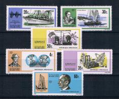 Ruanda 1975 Schiffe/Nobelpreis Mi.Nr. 634/39 kpl. Satz **