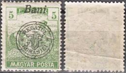 HUNGARY, 1919, Harvesting Wheat, Overprinted In Black, Issued In Nagyvarad, Sc/Mi 6N44 / 28II - Ungebraucht