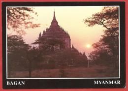 CARTOLINA NV BIRMANIA MYANMAR - BAGAN - That Byin Nyu Temple - 10 X 15 - Myanmar (Burma)
