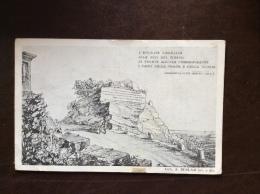 TRIESTE - CARTOLINA RICORDO DELL'ARCH.A.BERLAM - L'EPIGRAFE VIRGILIANA ALLE FOCI DEL TIMAVO...... - NON VIAGGIATA - Guerre 1914-18